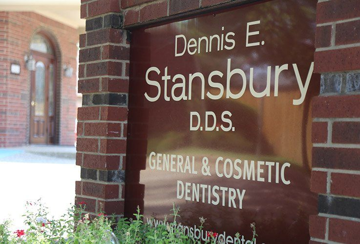 Dennis E. Stansbury DDS sign