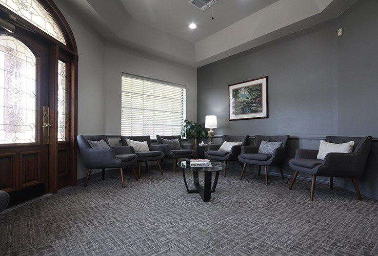 Welcoming waiting area