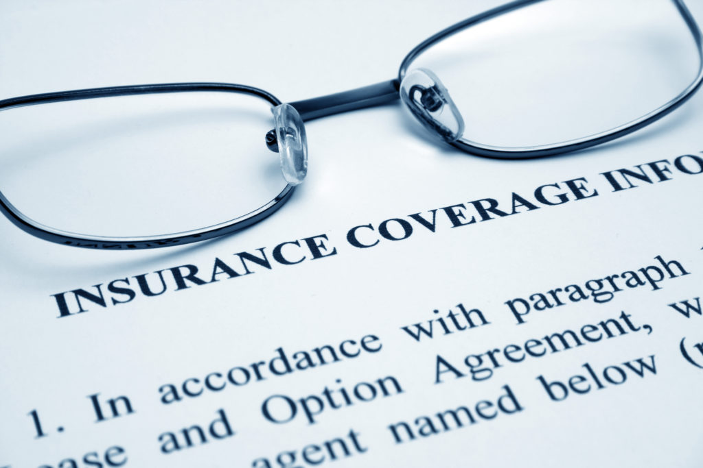 Dental insurance policy document